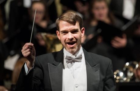 Brian conducting